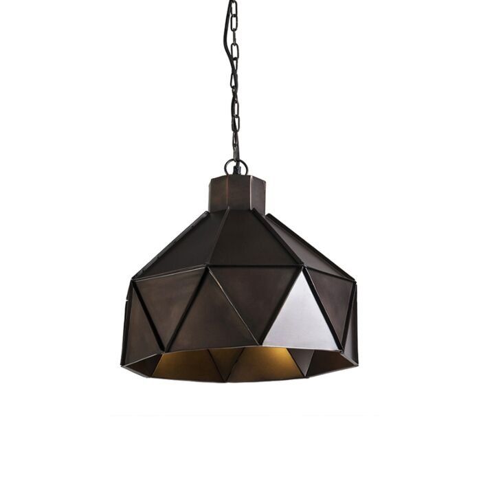Lampa-wisząca-Triango-miedź