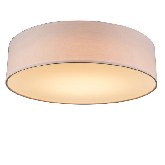 Plafon-LED-różowy-40cm---Drum-LED