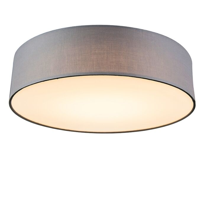 Plafon-Drum-LED-40-szary