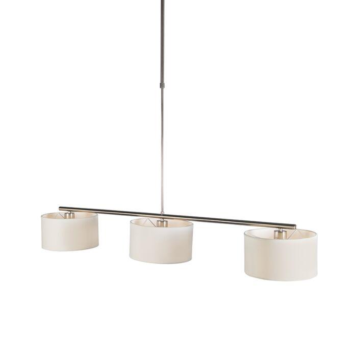 Nowoczesna-lampa-wisząca-biała-okrągła---VT-3