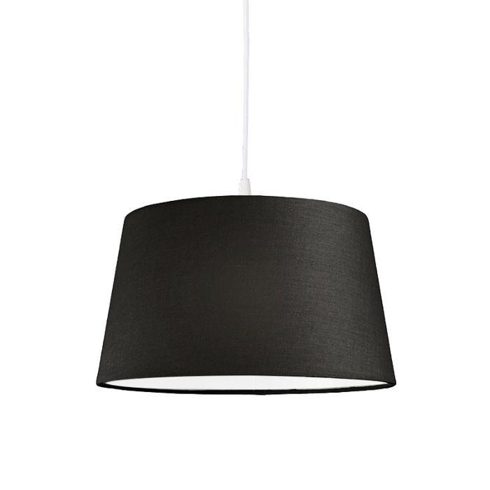 lampy sufitowe z kloszem czarnym