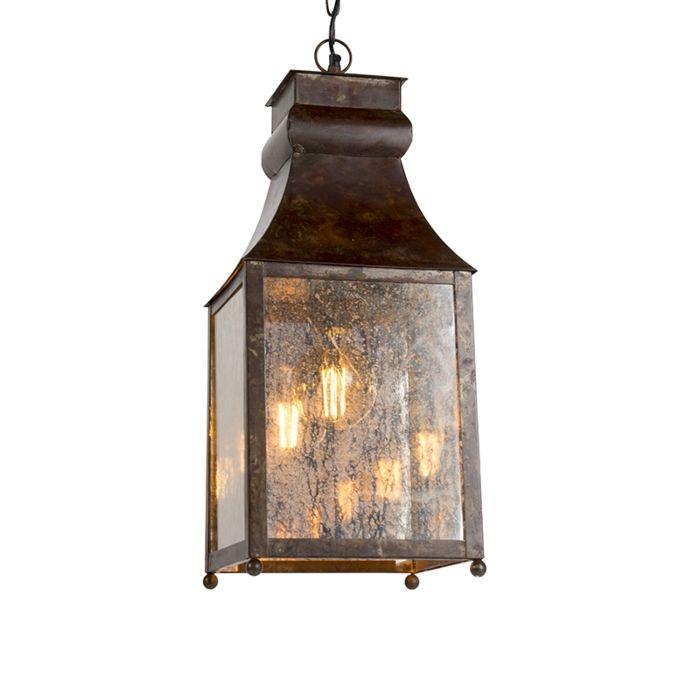 Lampa-wisząca-Agilan-rdza