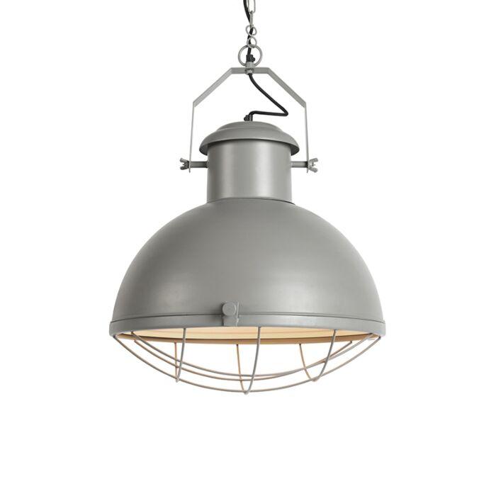 Lampa-wisząca-Engine-szara