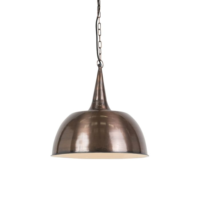 Industrialna-lampa-wisząca-miedź---Loft