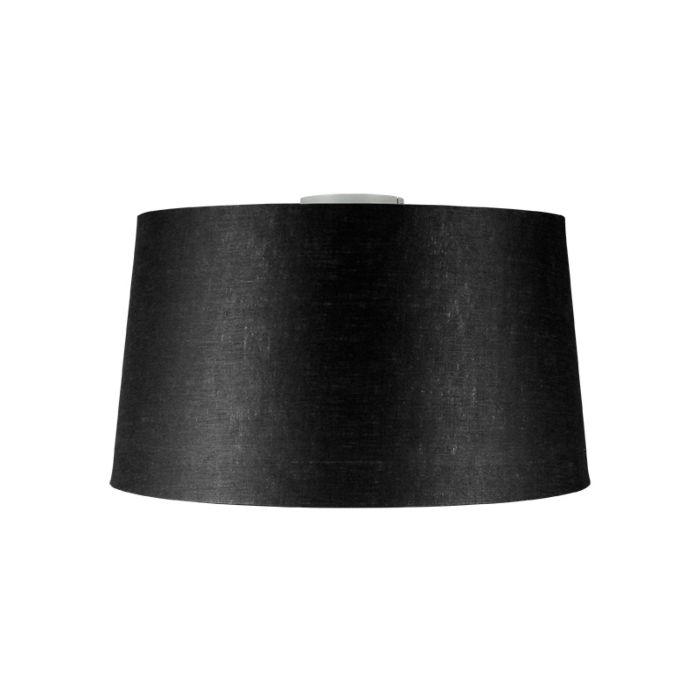 Nowoczesny-plafon-stal-klosz-czarny-45cm---Combi