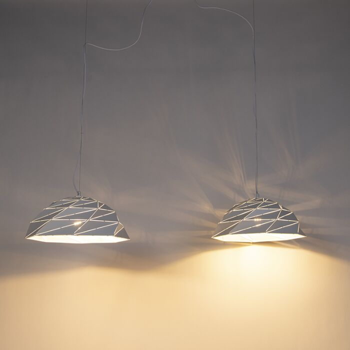 Art-Deco-lampa-wisząca-biała-2---Lazuli