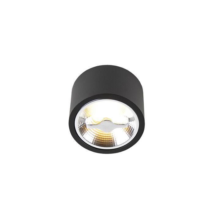 Nowoczesna oprawa sufitowa czarna AR111 w tym LED Expert