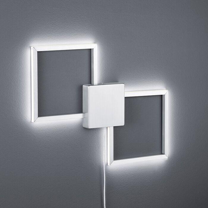 Nowoczesny-kwadratowy-kinkiet-stal-zwiera-LED---Carpo