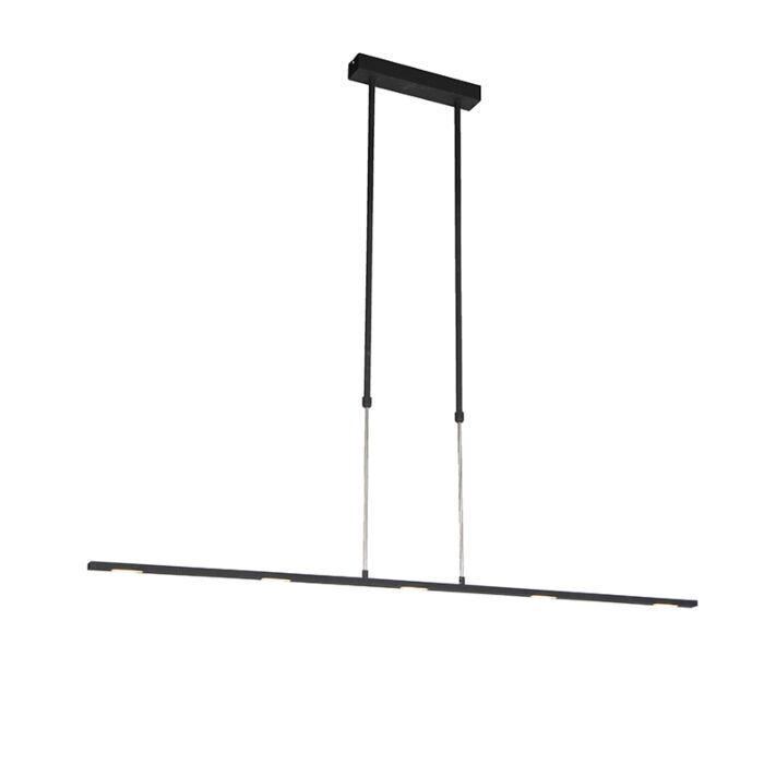 Nowoczesna-lampa-wisząca-LED-czarna---Bold