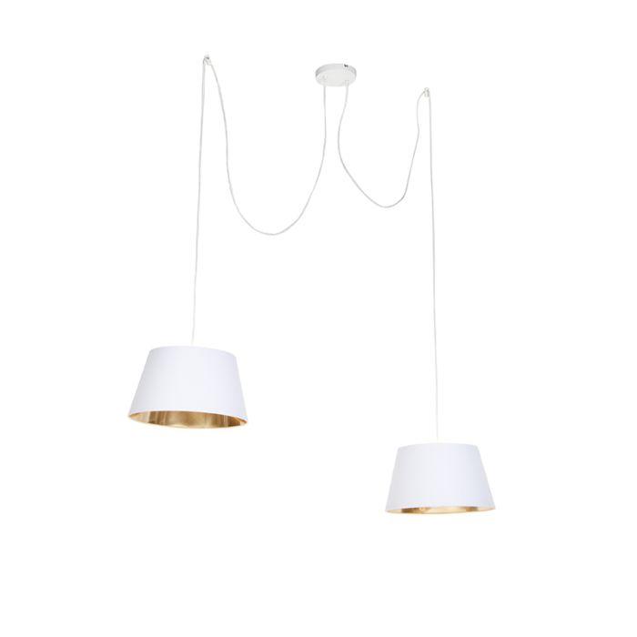 Nowoczesna-lampa-wisząca-biała---Lofty