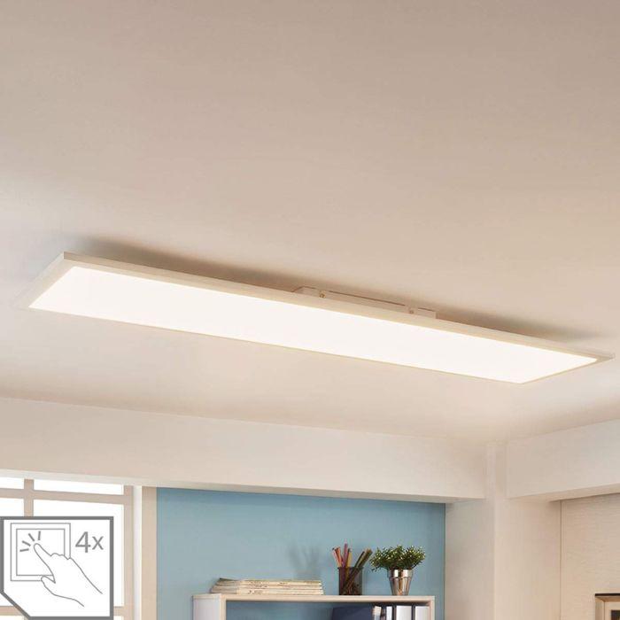 Nowoczesny-panel-LED-119,5-cm-wraz-z-diodą-LED-i-ściemniaczem---Enja