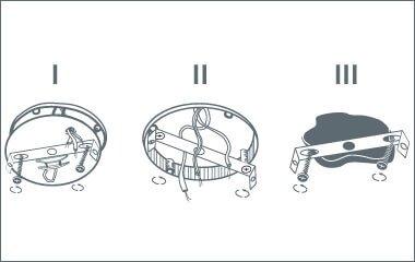 Krok. 2 Zamontuj płytkę montażową