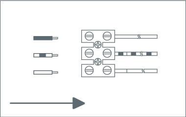 Krok 4. Podłącz przewody do kostki elektrycznej