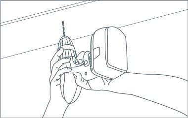 Krok 5. Przymocuj płytę sufitową do sufitu