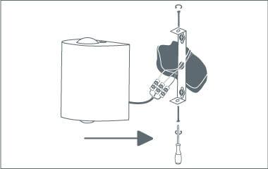 Krok 4. Zamontuj lampę wisząca